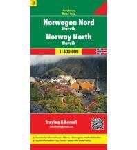 f&b Straßenkarten freytag & berndt Auto + Freizeitkarte Norwegen 3, Nord - Narvik 1:400.000 Freytag-Berndt und ARTARIA