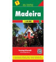 f&b Straßenkarten freytag & berndt Auto + Freizeitkarte Madeira 1:40.000 Freytag-Berndt und ARTARIA