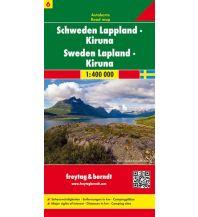 f&b Straßenkarten freytag & berndt Auto + Freizeitkarte Schweden 6, Lappland - Kiruna 1:400.000 Freytag-Berndt und ARTARIA