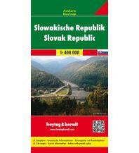 f&b Straßenkarten Slowakische Republik, Autokarte 1:400.000 Freytag-Berndt und ARTARIA
