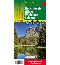 f&b Wanderkarten WK 5041 Hochschwab - Aflenz - Wildalpen - Salzatal, Hiking Map 1:35.000 Freytag-Berndt und ARTARIA