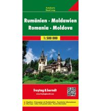 f&b Straßenkarten freatag & berndt Auto + Freizeitkarte, Rumänien - Moldawien 1:500.000 Freytag-Berndt und ARTARIA