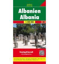 f&b Straßenkarten freytag & berndt Auto + Freizeitkarte Albanien 1:400.000 Freytag-Berndt und ARTARIA