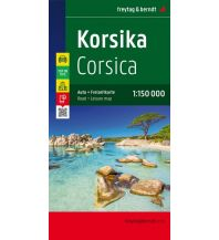 f&b Straßenkarten freytag & berndt Auto + Freizeitkarte Frankreich, Korsika 1:150.000 Freytag-Berndt und ARTARIA
