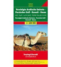 f&b Straßenkarten f&b Autokarte Vereinigte Arabische Emirate - Persischer Golf - Kuwait - Oman, 1:1,6 Mio. Freytag-Berndt und ARTARIA