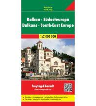 f&b Straßenkarten freytag & berndt Autokarte, Balkan - Südosteuropa 1:2 Mio. Freytag-Berndt und ARTARIA