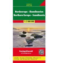 f&b Straßenkarten f&b Autokarte Nordeuropa - Skandinavien 1:2 Mio. Freytag-Berndt und ARTARIA