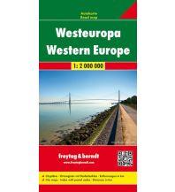 f&b Straßenkarten freytag & berndt Auto + Freizeitkarte Westeuropa 1:2.000.000 Freytag-Berndt und ARTARIA