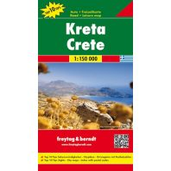 f&b Straßenkarten freytag & berndt Auto + Freizeitkarte Griechenland, Kreta 1:150.000 Freytag-Berndt und ARTARIA