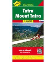f&b Straßenkarten Tatra, Autokarte 1:150.000 Freytag-Berndt und ARTARIA