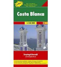 f&b Straßenkarten freytag & berndt Auto- & Freizeitkarte Costa Blanca 1:150.000 Freytag-Berndt und ARTARIA