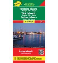 f&b Straßenkarten f&b Autokarte Türkische Riviera - Antalya - Side - Alanya 1:150.000 Top 10 Tips Freytag-Berndt und ARTARIA