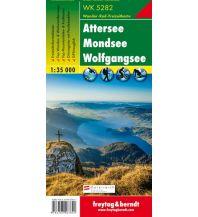 f&b Wanderkarten WK 5282 Attersee - Mondsee - Wolfgangsee, Wanderkarte 1:35.000 Freytag-Berndt und ARTARIA