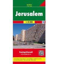 f&b Stadtpläne Jerusalem, Stadtplan 1:10.000 Freytag-Berndt und ARTARIA