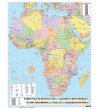 f&b Poster und Wandkarten Afrika physisch-politisch, Magnetmarkiertafel Freytag-Berndt u. Artaria KG