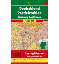 Deutschland Wandkarte: Deutschland Postleitzahlen, Markiertafel 1:700.000 Freytag-Berndt u. Artaria KG