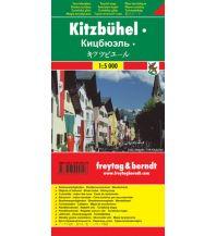 f&b Stadtpläne Kitzbühel Touristenplan Freytag-Berndt und ARTARIA