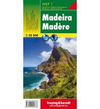 f&b Wanderkarten WKP 1, Madeira, Wanderkarte 1:30.000 Freytag-Berndt und ARTARIA