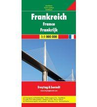 f&b Straßenkarten freytag & berndt Autokarte Frankreich 1:1 Mio. Freytag-Berndt und ARTARIA