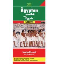 f&b Straßenkarten f&b Autokarte Ägypten 1:800.000 Freytag-Berndt und ARTARIA