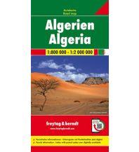 f&b Straßenkarten f&b Autokarte Algerien 1:800.000- 1:2.000.000 Freytag-Berndt und ARTARIA
