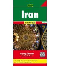 f&b Straßenkarten f&b Autokarte Iran 1:1,5 Mio Freytag-Berndt und ARTARIA