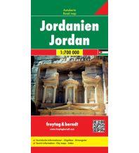 f&b Straßenkarten f&b Autokarte Jordanien 1:700.000 Freytag-Berndt und ARTARIA