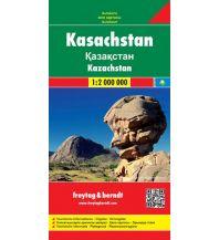 f&b Straßenkarten f&b Autokarte Kasachstan 1:2 Mio. Freytag-Berndt und ARTARIA