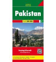 f&b Straßenkarten f&b Autokarte Pakistan 1:1,5 Mio. Freytag-Berndt und ARTARIA