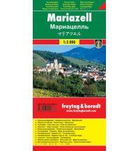 f&b Stadtpläne Mariazell Touristenplan Freytag-Berndt und ARTARIA