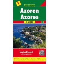 f&b Straßenkarten freytag & berndt Auto + Freizeitkarte Azoren 1:50.000 Freytag-Berndt und ARTARIA