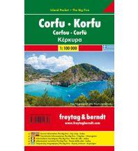 f&b Straßenkarten freytag & berndt Island Pocket + The Big Five Griechenland, Korfu 1:100.000 Freytag-Berndt und ARTARIA