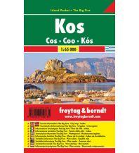 f&b Straßenkarten freytag & berndt Island Pocket + The Big Five Griechenland, Kos 1:65.000 Freytag-Berndt und ARTARIA