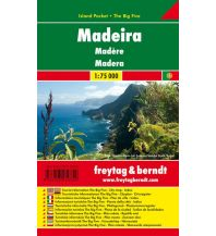 f&b Straßenkarten freytag & berndt Island Pocket + The Big Five, Madeira 1:75.000 Freytag-Berndt und ARTARIA