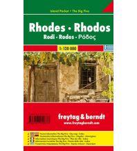 f&b Straßenkarten freytag & berndt Island Pocket + The Big Five Griechenland, Rhodos 1:120.000 Freytag-Berndt und ARTARIA