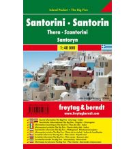 f&b Straßenkarten freytag & berndt Island Pocket + The Big Five Griechenland, Santorin 1:40.000 Freytag-Berndt und ARTARIA