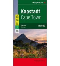 f&b Stadtpläne Kapstadt, Stadtplan 1:12.000 Freytag-Berndt und ARTARIA