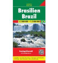 f&b Straßenkarten f&b Autokarte Brasilien 1:2 Mio. - 1:3 Mio. Freytag-Berndt und ARTARIA