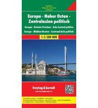 f&b Straßenkarten f&b Autokarte Europa-Naher Osten-Zentralasien politisch 1:5,5 Mio Freytag-Berndt und ARTARIA