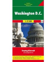 f&b Stadtpläne Washington, Stadtplan 1:12.500 Freytag-Berndt und ARTARIA