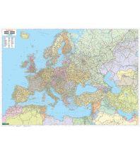 Europa Wandkarte: Europa - Naher Osten - Zentralasien politisch, 1:5,5. Mio., Markiertafel Freytag-Berndt u. Artaria KG