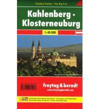 f&b Wanderkarten Kahlenberg - Klosterneuburg, Outdoor Pocket + The Big Five, Wanderkarte 1:40.000 Freytag-Berndt und ARTARIA