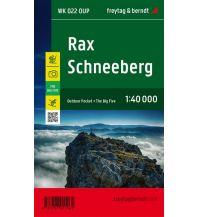f&b Wanderkarten Rax - Schneeberg, Outdoor Pocket, Wanderkarte 1:40.000 Freytag-Berndt und ARTARIA
