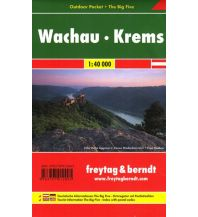 f&b Wanderkarten Wachau - Krems, Outdoor Pocket + The Big Five, Wanderkarte 1:50.000 Freytag-Berndt und ARTARIA