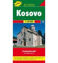 f&b Straßenkarten freytag & berndt Auto + Freizeitkarte Kosovo 1:150.000 Freytag-Berndt und ARTARIA
