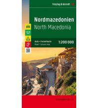 f&b Straßenkarten freytag & berndt Auto + Freizeitkarte, Mazedonien 1:200.000 Freytag-Berndt und ARTARIA