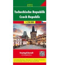 f&b Straßenkarten Tschechische Republik, Autokarte 1:250.000 Freytag-Berndt und ARTARIA
