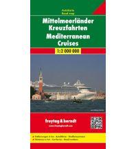 f&b Straßenkarten freytag & berndt Autokarte Mittelmeerländer Kreuzfahrten 1:2 Mio. Freytag-Berndt und ARTARIA
