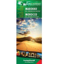 """f&b Straßenkarten Marokko - Das """"Königreich des Westens"""", Welt Kompakt Serie Freytag-Berndt und ARTARIA"""