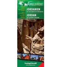 f&b Straßenkarten Jordanien - Das haschemitische Königreich, Welt Kompakt Serie Freytag-Berndt und ARTARIA